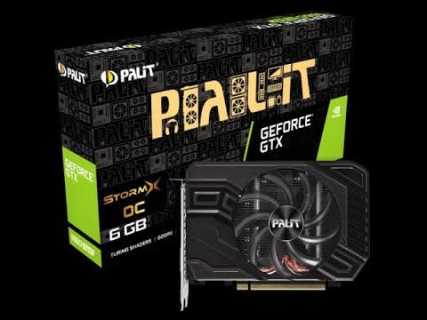 Palit PCI-Ex GeForce GTX 1660 Super StormX OC 6GB GDDR6 (192bit) (1530/14000) (1 x DVI, 1 x HDMI, 1 x DisplayPort) (NE6166SS18J9-161F)