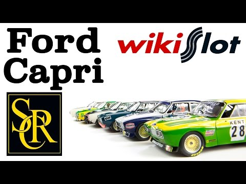The Ford Capri by Slot Racing Company