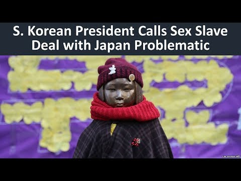 Learn English with VOA News - S. Korean President Calls Sex Slave Deal with Japan Problematic