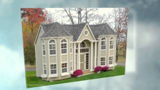 Playhouse Plans - Easy To Build Playhouse Plan For Backyard