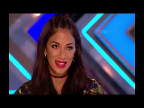 x factor uk  2017 Brad Howard Model wants to Date Nicole Full audition and Judges Comments
