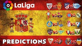 My La Liga Predictions Week 32