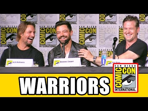 BRAVE NEW WARRIORS Comic Con Panel - Dominic Purcell, Dominic Cooper, Clive Standen, Eric Dane