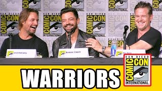 BRAVE NEW WARRIORS Comic Con 2016 - Clive Standen, Eric Dane, Theo Rossi, Dominic Cooper