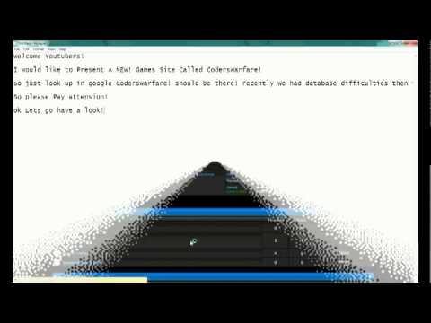 Coders Warfare - Online Game Hacking!