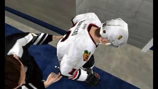 NHL 2002 (PC) - Catfish gameplay