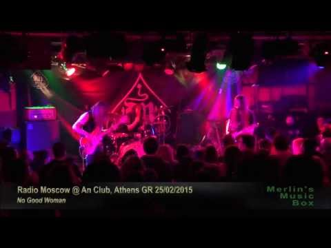 Radio Moscow - (complete show) @An Club, Athens 25/02/2015