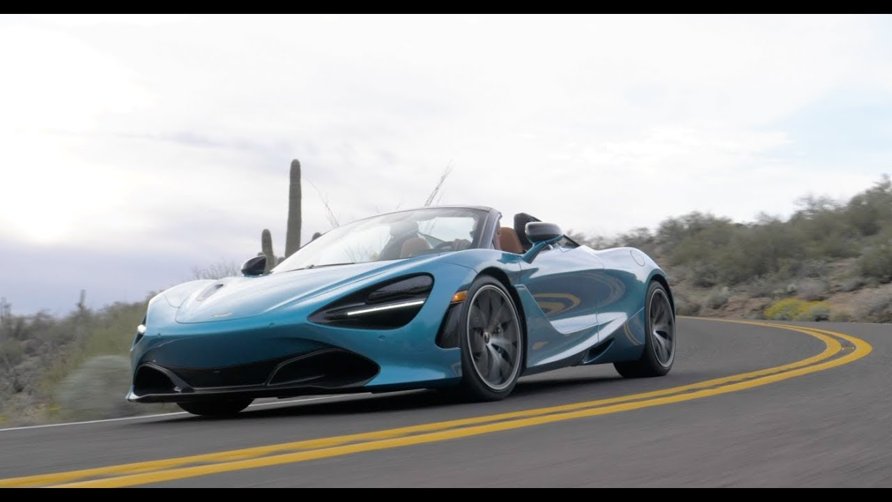 2020 Mclaren 720s Spider First Drive Uncompromising Youtube