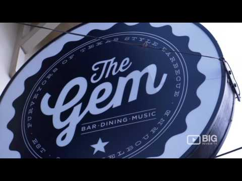 The Gem Bar, A Bar In Melbourne Serving American Food And Craft Beer
