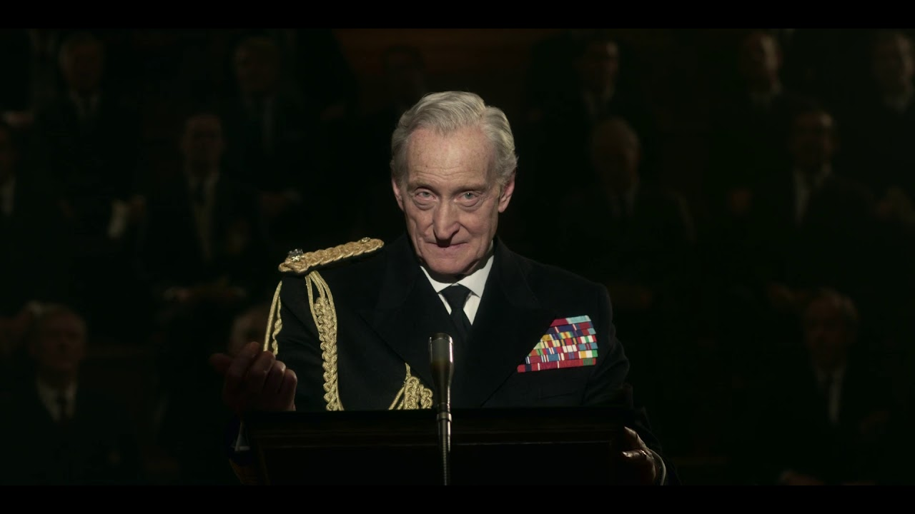 The Crown Lord Mountbatten Sings The Road To Mandalay S03e05 Youtube