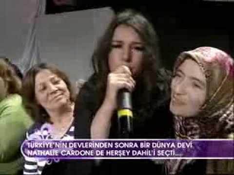 Nathalie Cardone - Yo Soy Rebelde - Istanbul, Mai 2009
