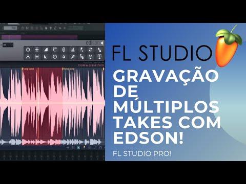 Gravação de Múltiplos Takes de Áudio no FL Studio