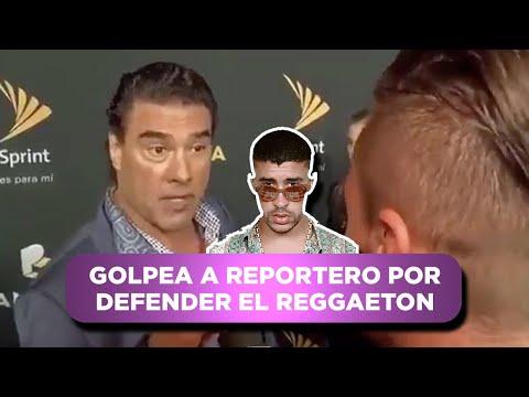 PARODY: Eduardo Yañez hits a reporter for defending Maluma.