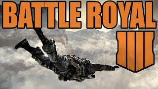 Black Ops 4: BATTLE ROYALE MODE (Call of Duty BO4)
