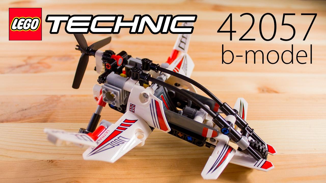 Lego Technic 42057 Ultralight Helicopter B Model экспериментальный