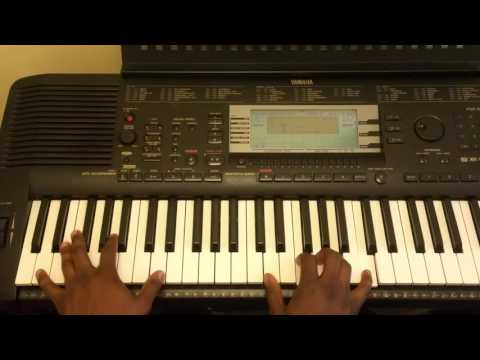 African Highlife  Piano tutorial in Key F Part 1