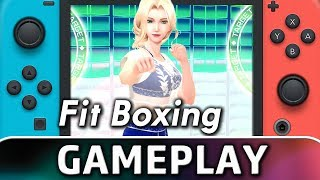 Fitness Boxing | 10 Minutes Of Gameplay On Switch