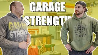 This gym is SICK! Would you train here? (Garage Strength Gym Tour)