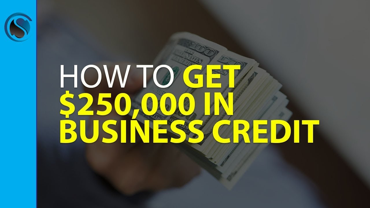 How to get 250000 in business credit for your ein thats not how to get 250000 in business credit for your ein thats not linked to your ssn and easily g youtube reheart Choice Image