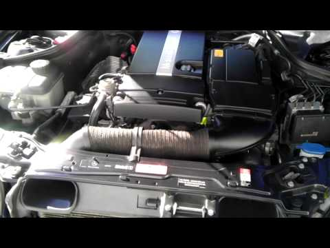 2005 Mercedes C230 Loud Engine Startup Youtube