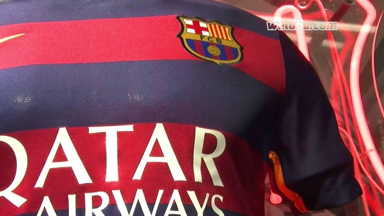 9eaa33617d4 FC Barcelona kit 2015 16  close look