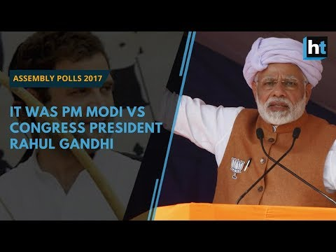 Assembly Elections 2017: It was PM Modi vs Rahul Gandhi all the way in Gujarat and Himachal