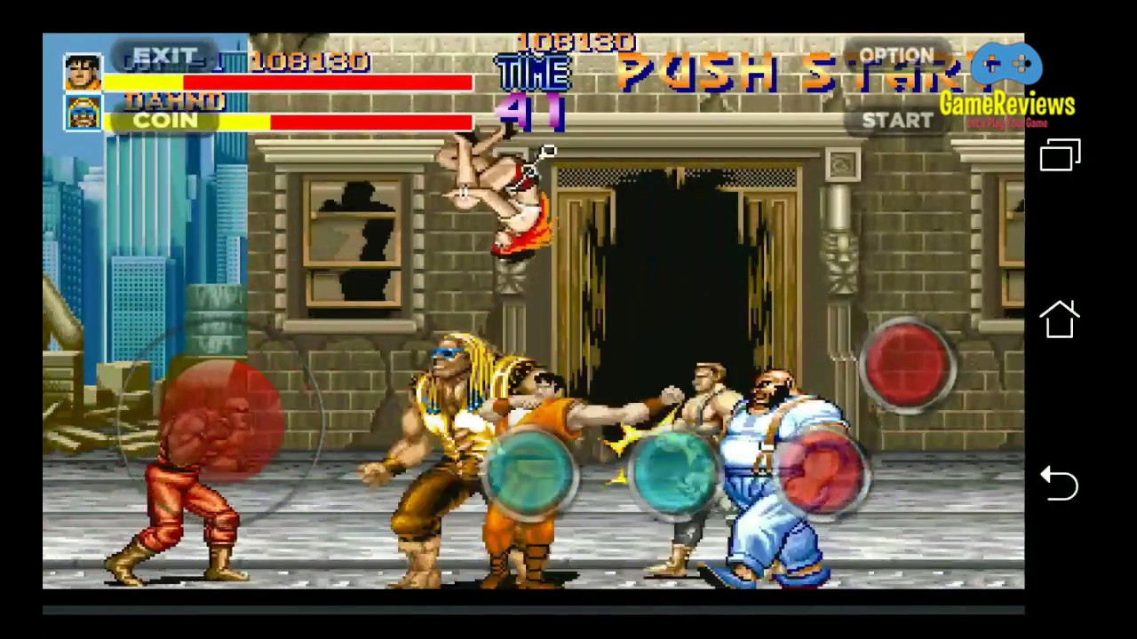 Game Reviews The Best Arcade Game EVER From 90's! FINAL FIGHT - Stage 01
