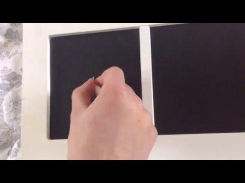 Hand vs chalk man
