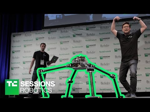DEMO: NABi and ALPHRED (Dennis Hong, UCLA) | TC Sessions Robotics 2018