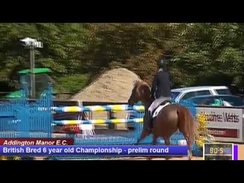 British Young Horse Showjumping Championships British Bred 6YO Prelim - Friday 18th August 2017