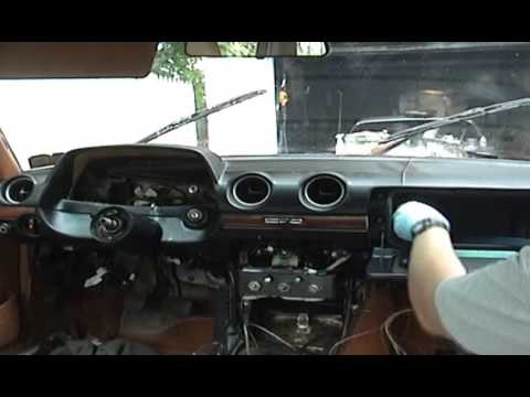 240d vacuum diagram mercedes benz w123 diy removing dashboard youtube  mercedes benz w123 diy removing dashboard youtube