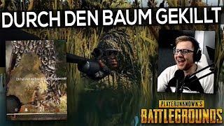 PUBG - DURCH DEN BAUM GEKILLT !? Buddyclips Twitch Stream Highlights Deutsch German