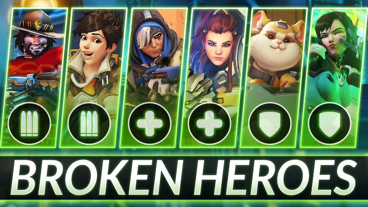 Download MOST BROKEN HEROES RIGHT NOW - NEW UPDATED Tier List (EVERY ROLE) - Overwatch Guide