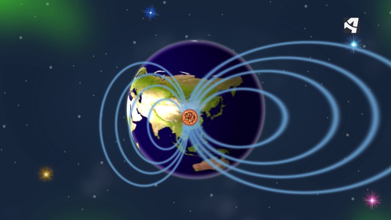 Resultado de imagen de La Tierra es un gran imán