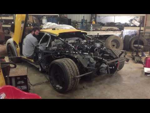 LS Mid engine swap
