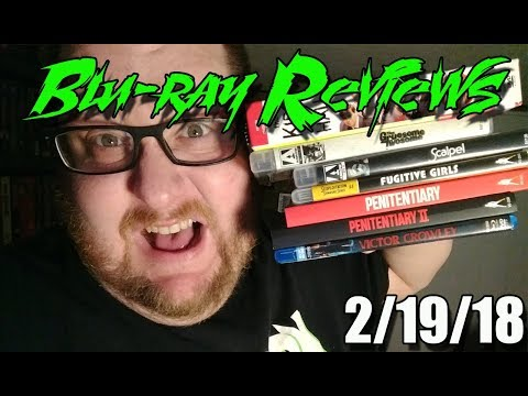 Blu-ray Reviews - 2/19/18