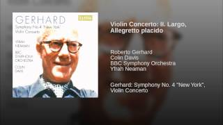 Violin Concerto: II. Largo, Allegretto placido