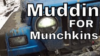 Muddin for Munchkins - At Backwoods 4x4 Rumney, NH