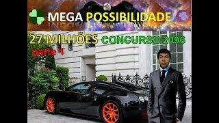MEGA  possibilidade concurso 2096 da mega sena - parte 1.