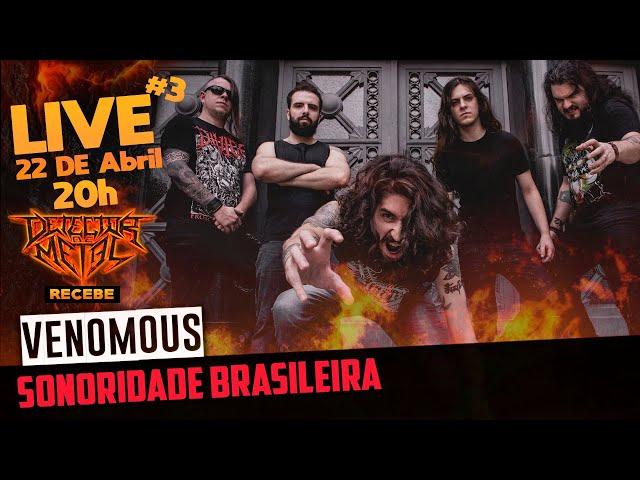 Venomous | Death Metal com raízes brasileiras | LIVE #3