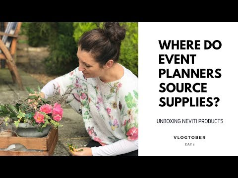 Where Do Event Planners Get Their Supplies?