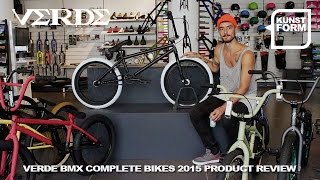 Verde bikes 2015 BMX bikes review | with english subtitles