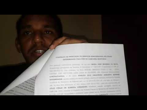 Contrato de Trabalho Eleitoral em Alvarães