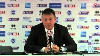 Nottingham Forest Press Conference: Post-Brighton