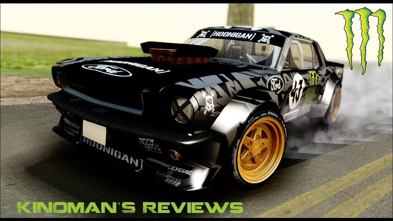 Gta San Andreas Ken S Block S Ford Mustang 1965 Youtube