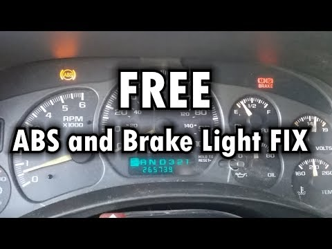 """ABS & BRAKE Light FIX """"Ground Cleaning"""""""