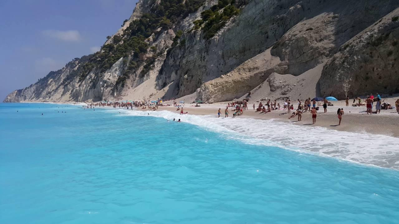 as praias mais bonitas do mundo Egremni Beach