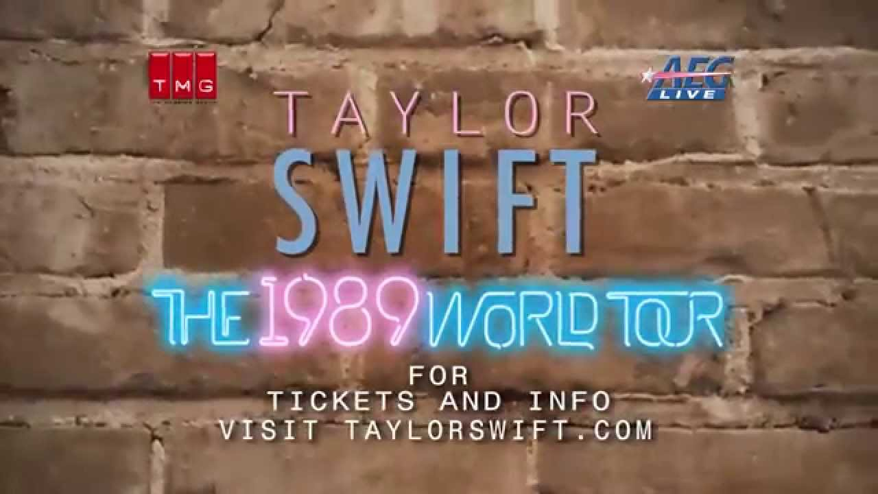 Taylor Swift Announces 2015 World Tour