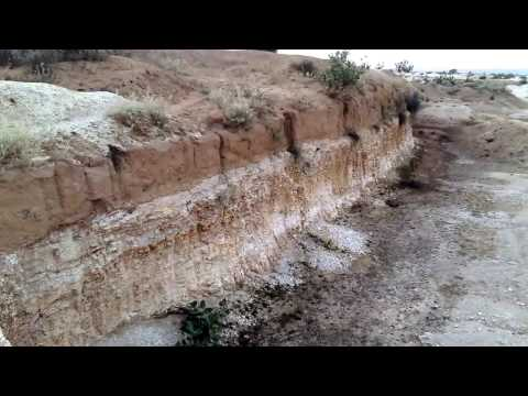 Mining of diatomaceous earth