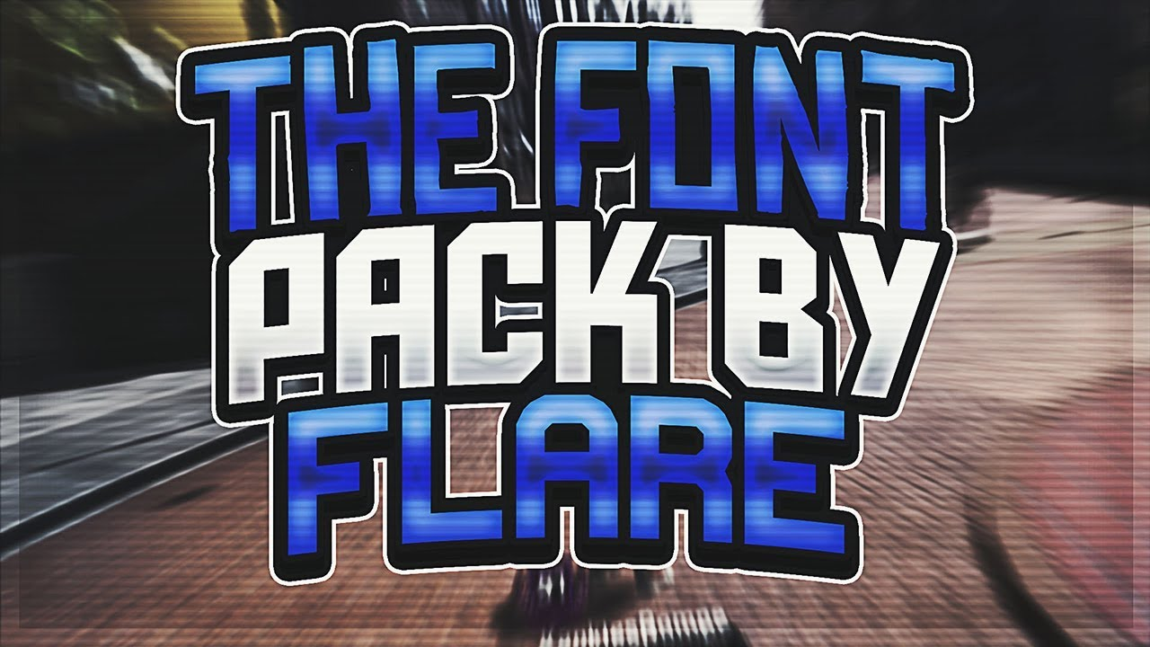 Download THE FONT PACK BY FLARE. THE BEST NBA 2K18 FONTS. BECOME A ...